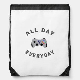 Rolig Gamer all dag dagligt R Ryggsäck
