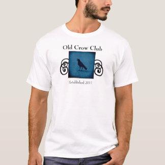 Rolig gammal skjorta för kråkaklubbutslagsplats t shirt