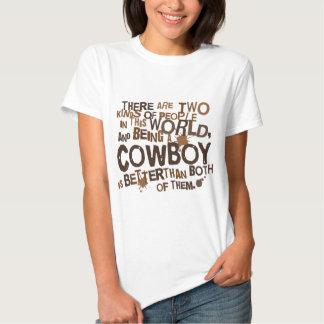 Rolig) gåva för Cowboy ( Tee