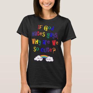 Rolig gay pride, därför är vi som så är gulliga t shirt