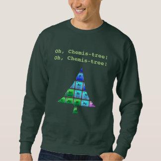 Rolig Geekvits: Oh Chemis-träd! Lång Ärmad Tröja