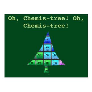 Rolig Geekvits: Oh Chemis-träd! Vykort