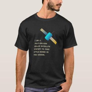 Rolig geocaching användning tee shirts