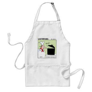 Rolig gourmet- kockLaftovers tecknad Förkläde