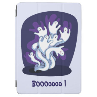 Rolig gullig spökenhalloween tecknad iPad air skydd