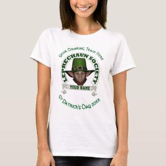 Rolig gullig trollpersonligst patrick's day t shirt