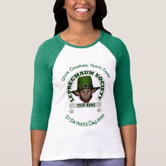 Rolig gullig trollpersonligst patrick's day tröja