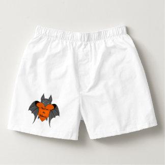 Rolig Halloween fladdermöss Boxers