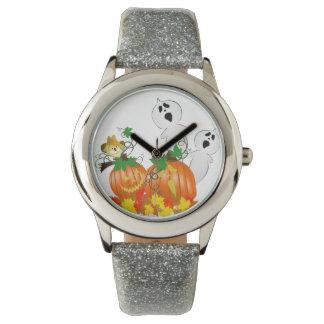 Rolig Halloween spöken Armbandsur