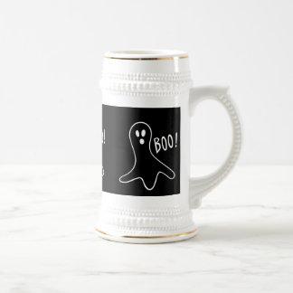 rolig halloween spöken som ropar bu! ölkrus