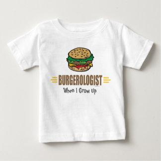 Rolig hamburgare tshirts