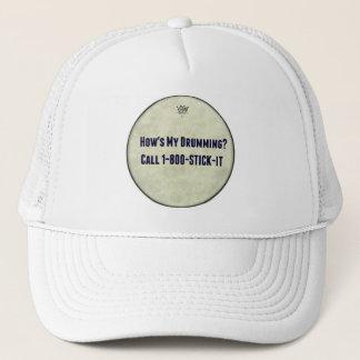 Rolig handelsresande hur är min trummande hattar keps
