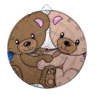 rolig härlig glädjelycklig för gullig baby djur darttavla