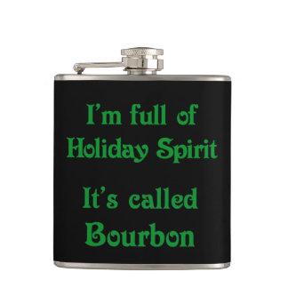 Rolig helgdagandeBourbon flaska Fickplunta