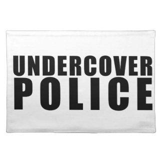 Rolig hemlig polis bordstablett