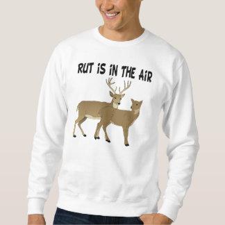 Rolig hjortbrunst är i luften lång ärmad tröja