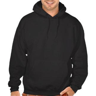Rolig hjortjägare hoodie