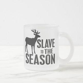 Rolig hjortjägare kaffe kopp