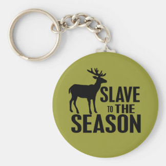 Rolig hjortjägare nyckel ringar