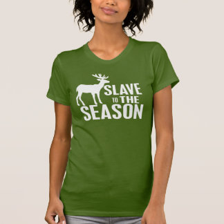 Rolig hjortjägare t shirts