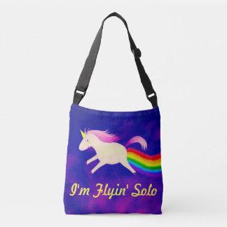 Rolig I-förmiddagFlyin solo Unicorn som fiser Axelväska