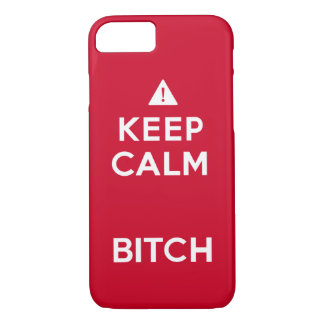 Rolig iphone case för behållalugnparodi