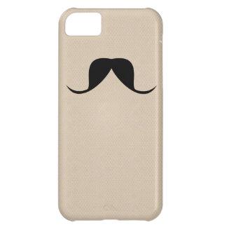 Rolig iphone casemustasch iPhone 5C fodral