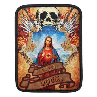 Rolig Jesus sten iPad Sleeve