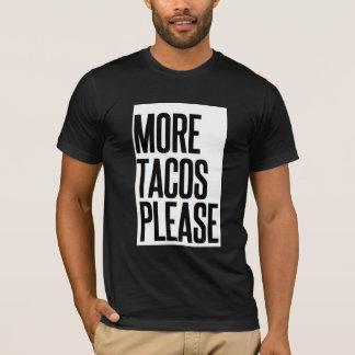 Rolig jul Feliz Navidad som mer Tacos behar T-shirts