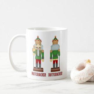 Rolig julnötknäppare humoristiska Buttcracker Kaffemugg
