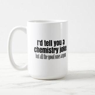 Rolig kemi Meme för lärarestudenter Vit Mugg