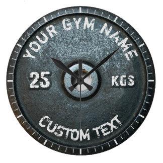 Rolig kondition för för vintageidrottshallägare stor klocka