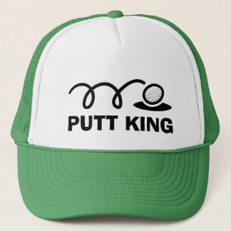 Rolig kung för Putt för golfhattar | Truckerkeps