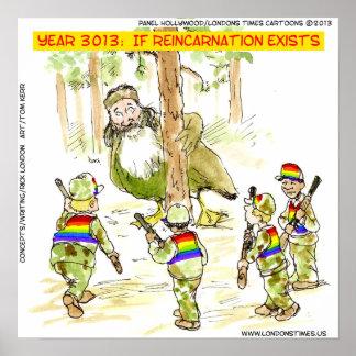 Rolig LGBT Vs den jätte- ankaaffischen Poster
