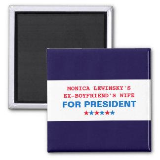 Rolig magnet 2016 för Hillary Clinton valkyl