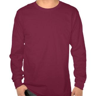 Rolig manar för Hipsterblåttuggla röd T-tröja för