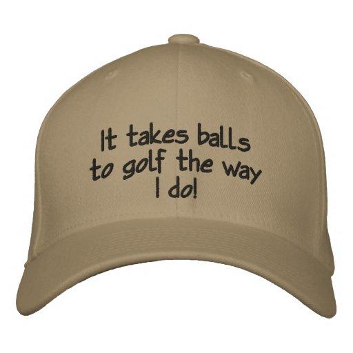Rolig manar Golfhatt Hatt
