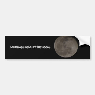 Rolig månebildekal bildekal