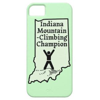Rolig mästare för Indiana bergklättring iPhone 5 Case-Mate Skydd