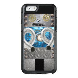 Rolig metallrobotSci Fi iphone case