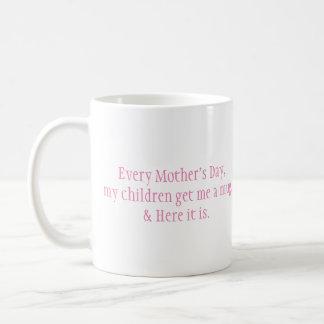 Rolig mors dagmugg kaffemugg