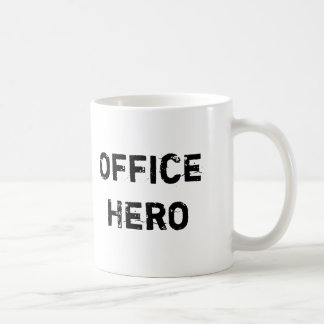 Rolig mugg för kontorshjälte