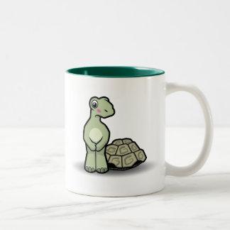 Rolig mugg för tecknadSnäcka-mindresköldpadda