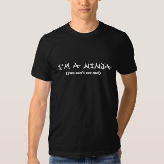 Rolig Ninja T-tröja Tshirts
