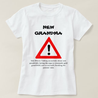 Rolig ny mormorskjorta tee shirt