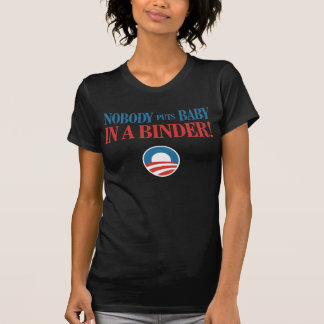 Rolig Obama för kvinnalimbindning t-skjorta 2012 Tröja