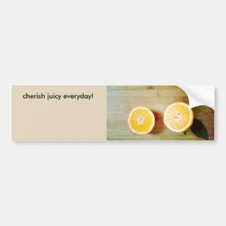 rolig orange bildekal