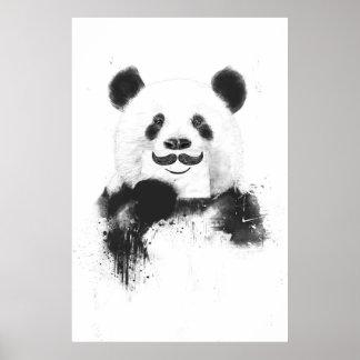 Rolig panda poster