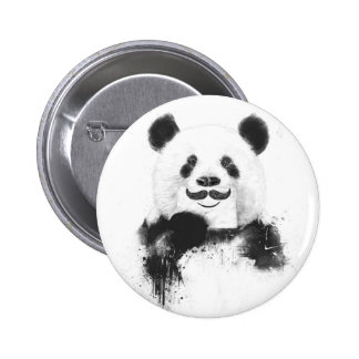 Rolig panda standard knapp rund 5.7 cm