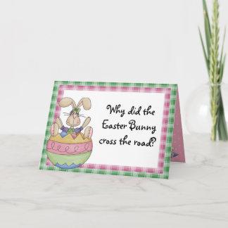 Rolig påsk helgkort